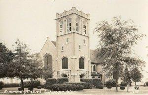 RP: LONGVIEW , Washington , 1930-40s ; Community Church