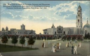 Panama California Exposition San Diego CA Plaza De Panama 1915 Postcard #2