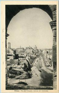 Italy - Rome,  View of Empire Street from the Colosseum