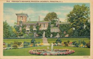 USA - President's Residence Princeton University 01.72