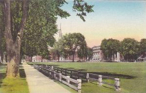 New Hampshire Hanover Senior Fence And Campus From College Hall Dartmouth Col...