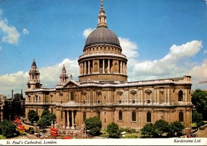 England London St Paul's Cathedral 1972