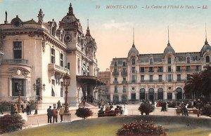 Le Casino et l'Hotel de Paris Monte Carlo Unused
