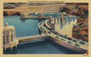 USA Transcontinental Highway across Boulder Dam 03.06