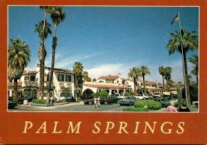 Florida Palm Beach Shopping Area