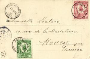 haiti, PETIT-GOÂVE, Street Scene (1905) Postcard