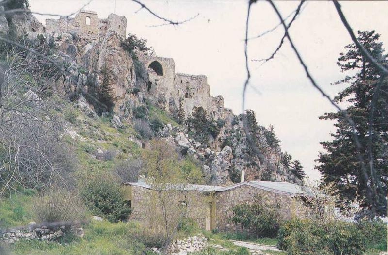 St. Hilarion , Kıbrıs (Cyprus) , 60-70s