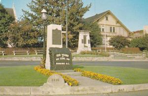 The Nanaimo Coal Monument,  Nanaimo,  B.C.,   Canada,  40-60s