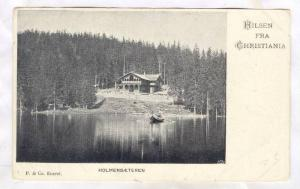 Hilsen fra Christiania , Holmensaeteren , Norway , 1890s