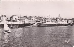 RP, Ships at wharf, DIEPPE (Seine Maritime), France, 1954