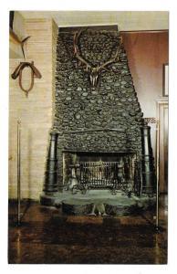 Philadelphia Old Original Bookbinders Restaurant Fireplace Vntg Postcard