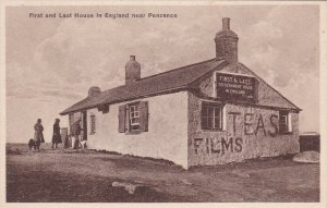 Near PENZANCE, Cornwall, England, 1900-1910's; First And Last House In England