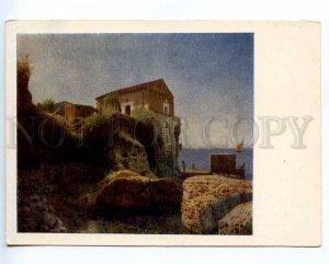 218230 RUSSIA LAGORIO Capri fisherman's cottage old postcard