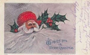 CHRISTMAS, 1909 ; Santa Claus & Snow Beard