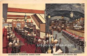 Leonardo's Florentine Dining Room Buffalo NY Unused