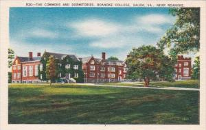 Virginia Salem The Commons And Dormitories Roanoke College