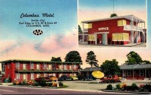 Mississippi Columbus The Columbus Motel 1954