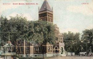 LPS66 GREENFIELD Iowa Court House Postcard