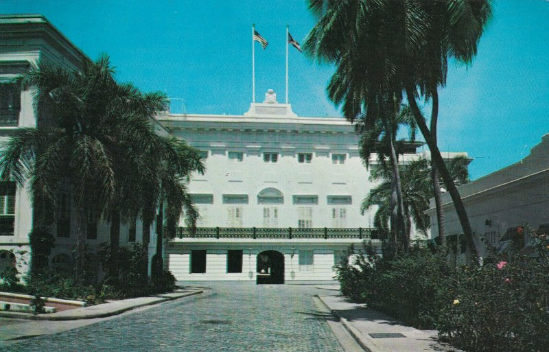 SAN JUAN , Puerto Rico, 50-60s; Fortaleza The Governor's Residence