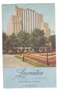 The Laurentien Hotel, Montreal, Quebec, Canada, 1940-1960s