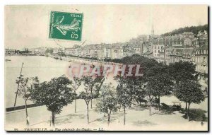 Old Postcard Trouville View Quays gnerale