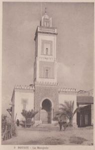 Mosque Bougie Algeria Antique Algerian Mediterranean Postcard