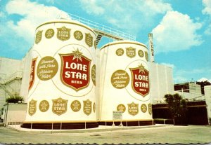 Texas San Antonio Lone Star Brewing Company World's Largest Beer Cans