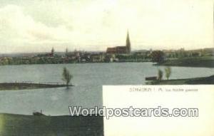 Schwerin I M Germany, Deutschland Postcard Von Norden gesehen Schwerin Von No...