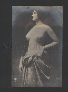 120463 NUDE Lady LONG HAIR by Angelo ASTI vintage PHOTO Russia