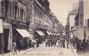 BREST, Finistere, France, 1900-1910´s; La Rue de Siam