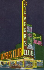 LAS VEGAS , Nevada , 50-60s ; Las Vegas Club