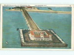 Pre-chrome BOAT SCENE St. Petersburg Florida FL AF5175