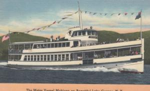 LAKE GEORGE , New York , 30-40s ; Motor Vessel MOHICAN
