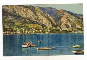 Sailboats, Garavano, Menton (Alpes Maritimes), France, 1900-1910s