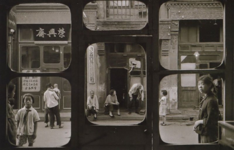Chinese Beijing 1960s China Antiques Shop Window View Photo Postcard
