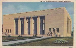 Mississippi Jackson The War Memorial Building Curteich