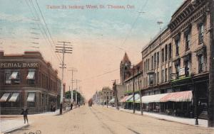 ST THOMAS , Ontario , Canada , 00-10s Talbot Street , Looking West
