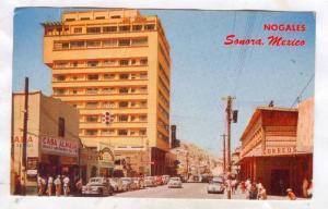 Calle Campillo, Hotel Fray Marcos De Niza, Post Office, Casa Almada, Nogales,...