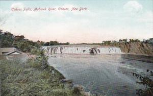 New York Cohoes Cohoes Falls Mohawk River