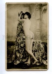161010 NUDE Belle WOMAN Vintage PHOTO card