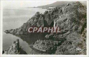 Postcard Modern Corniche d'Or Les Rochers du Trayas