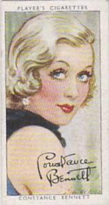 Players Cigarette Cards Film Stars Third Series No 4 Constence Bennett