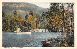 paradise lake george New York Antique Postcard L251