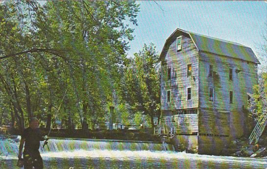 Cagles Old Water Power Mill on Mill Creek Poland Indiana