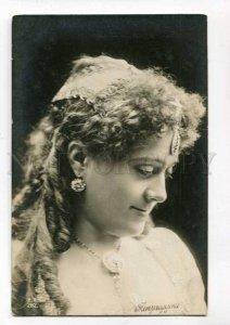 287998 Luisa TETRAZZINI Italian OPERA SINGER Vintage PHOTO Rus