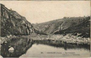 CPA CROZANT La Creuse (1143814)
