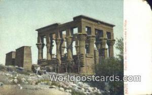 Haute EG Eqypt Pavillon des Empereurs romains a Philae Haute EG Pavillon des ...