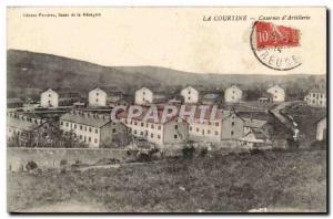 La Courtine Postcard Old Barracks d & # 39artillerie
