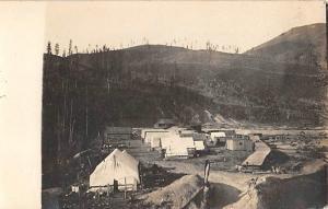Rppc Logging Camp postcard
