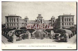 Old Postcard Marseille Longchamp Palace Museum of Fine Arts